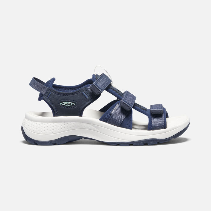 Women's Astoria West Open-Toe Sandals in Blue Nights/Black Iris - large view.
