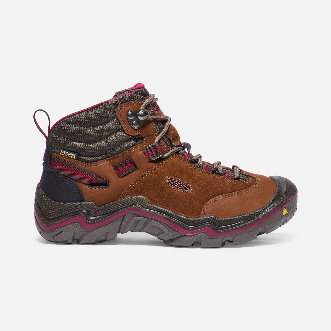 Women's LAUREL Waterproof MID in Monks Robe/Rhododendron - large view.