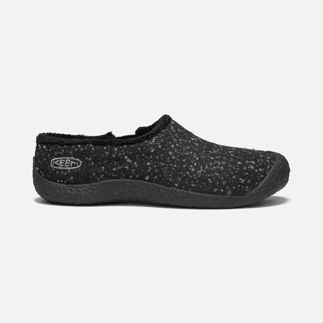 1b9a3e77a89 Women s Howser Wool Slide in BLACK KNOBBY STEEL GREY - large view.