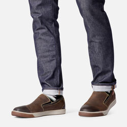 Men's Glenhaven Slip-On in  - on-body view.