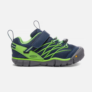 YOUNGER KIDS' CHANDLER CNX TRAINERS in POSEIDON/JASMINE GREEN - large view.