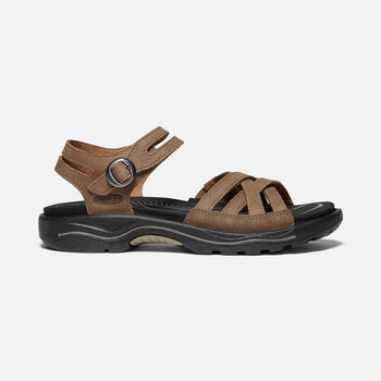 Women's Rialto II Naples Leather Hiking Sandals in PLAZA TAUPE/BUNGEE CORD - large view.