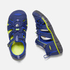 Big Kids' SEACAMP II CNX in Blue Depths/Chartreuse - small view.