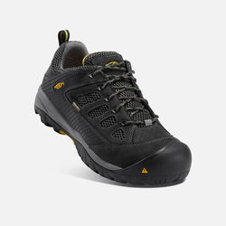Men's Tucson Low (Steel Toe) in Black/Gargoyle - small view.