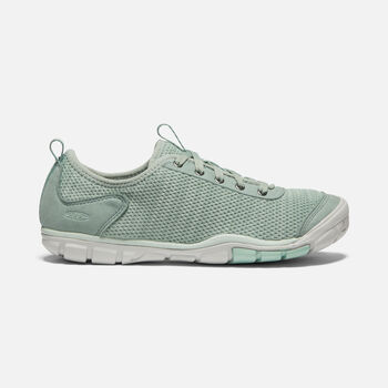 WOMEN'S HUSH KNIT TRAINERS in LILY PAD/CELADON - large view.
