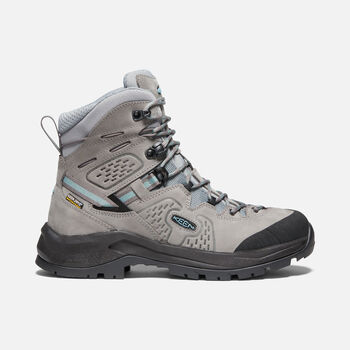 Women's Karraig Waterproof Hiking Boots in STEEL GREY/SMOKE BLUE - large view.