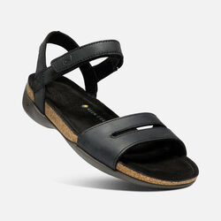 WOMEN'S ANA CORTEZ SANDALS in BLACK/BLACK - small view.