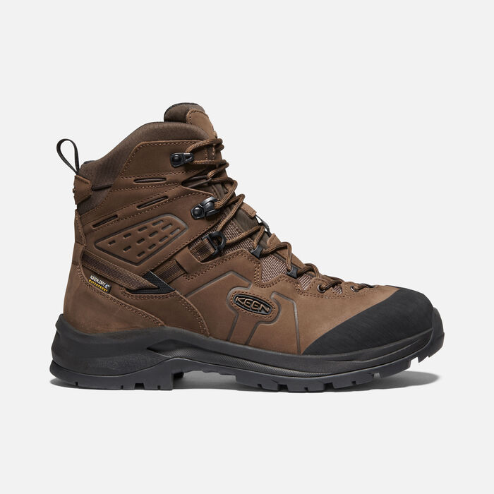 Men's Karraig Waterproof Hiking Boots. in DARK EARTH/RAVEN - large view.