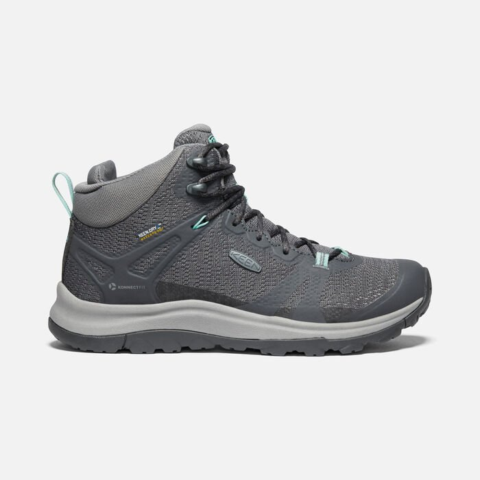 Women's Terradora II Waterproof Boot in Magnet/Ocean Wave - large view.
