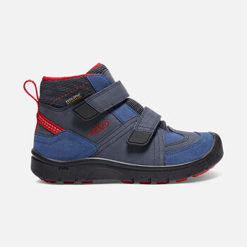 Little Kids' HIKEPORT Strap Waterproof Mid in Dress Blues/Blue Nights - large view.