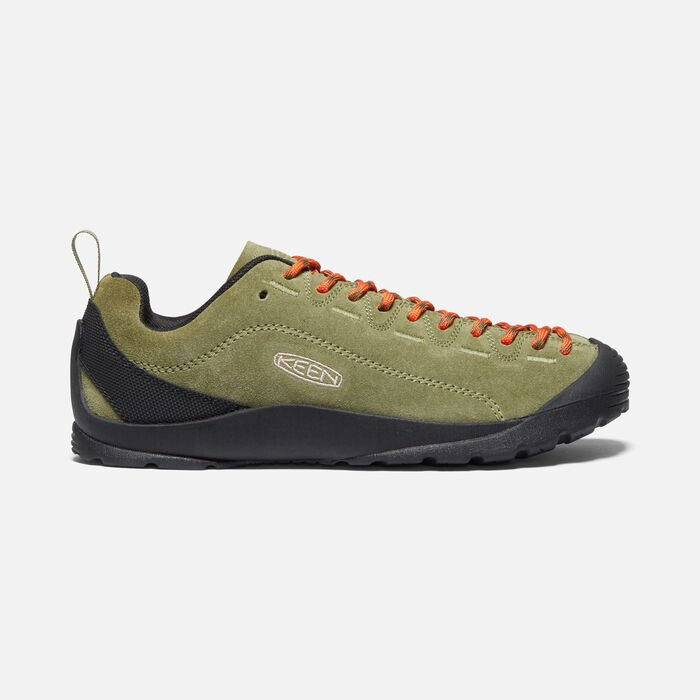 WOMEN'S JASPER CASUAL TRAINERS in Capulet Olive/Black - large view.