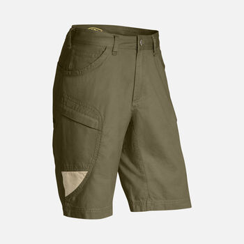 Newport Casual Cargo Shorts für Herren in Olive Green/Khaki - large view.