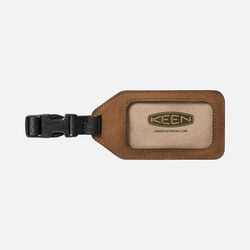 Luggage Tag in Brown - small view.