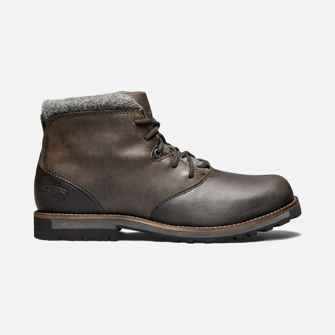Men's 'The Slater' Waterproof Boot in Bock - large view.