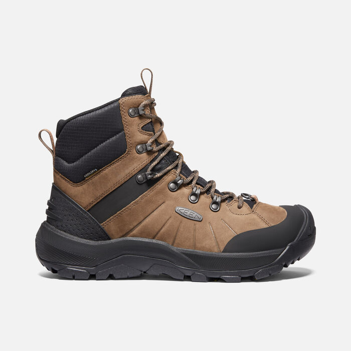 Men's Revel IV Mid Polar Winter Boots in Dark Earth/Caramel Cafe - large view.