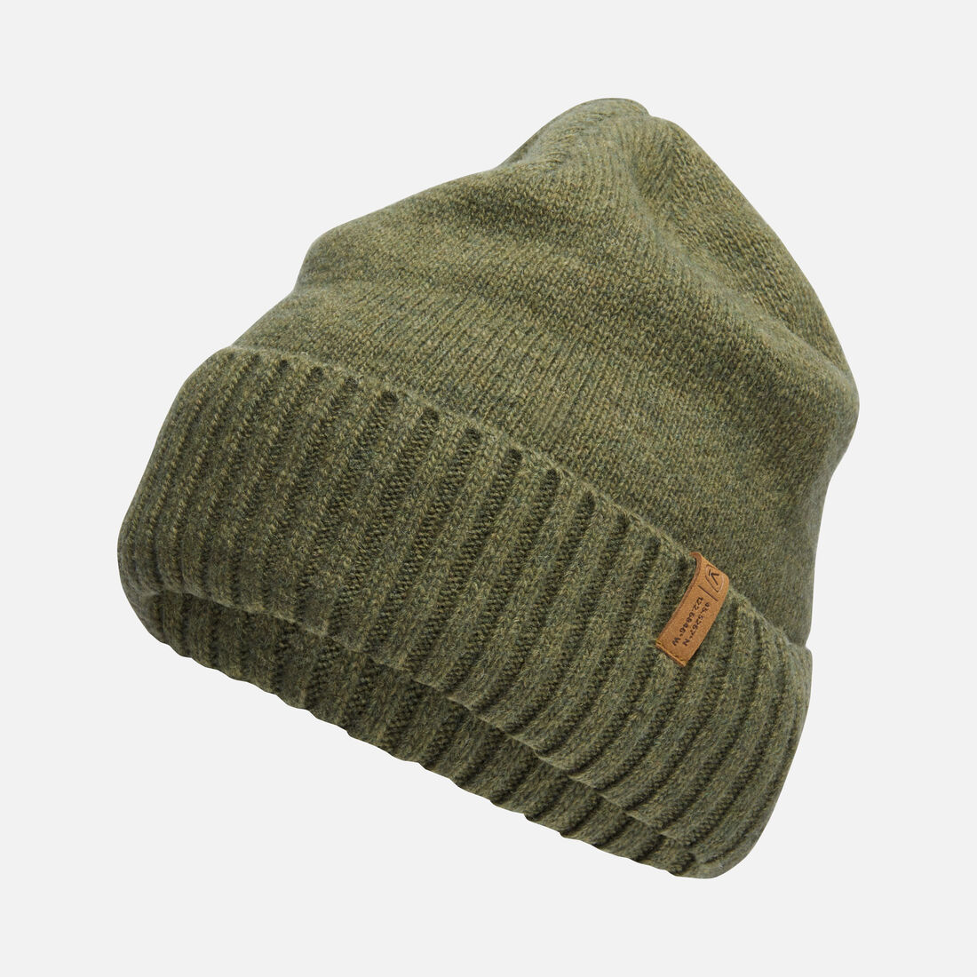 Locale Beanie in Moss - large view.