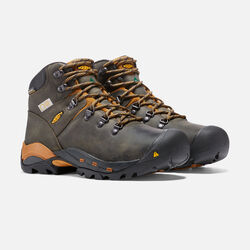 """CSA Hudson 6"""" Waterproof Boot (Steel Toe) Pour homme in Raven/Inca Gold - small view."""