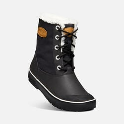 Women's Elsa Boot in Black - small view.