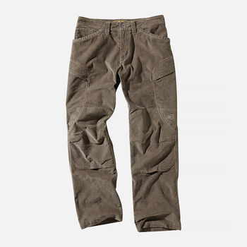 MEN'S DURHAM CASUAL CARGO TROUSERS in Taupe - large view.