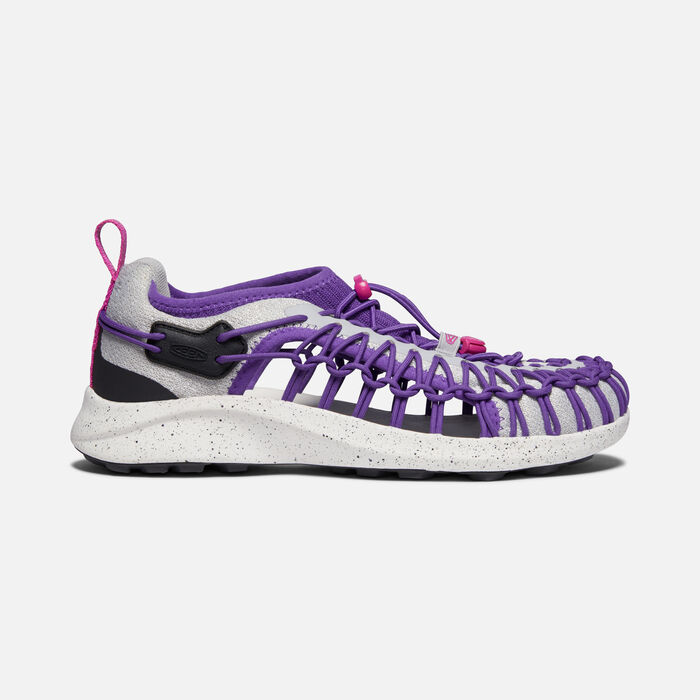 Women's Uneek SNK Shoe in Vapor/Royal Purple - large view.