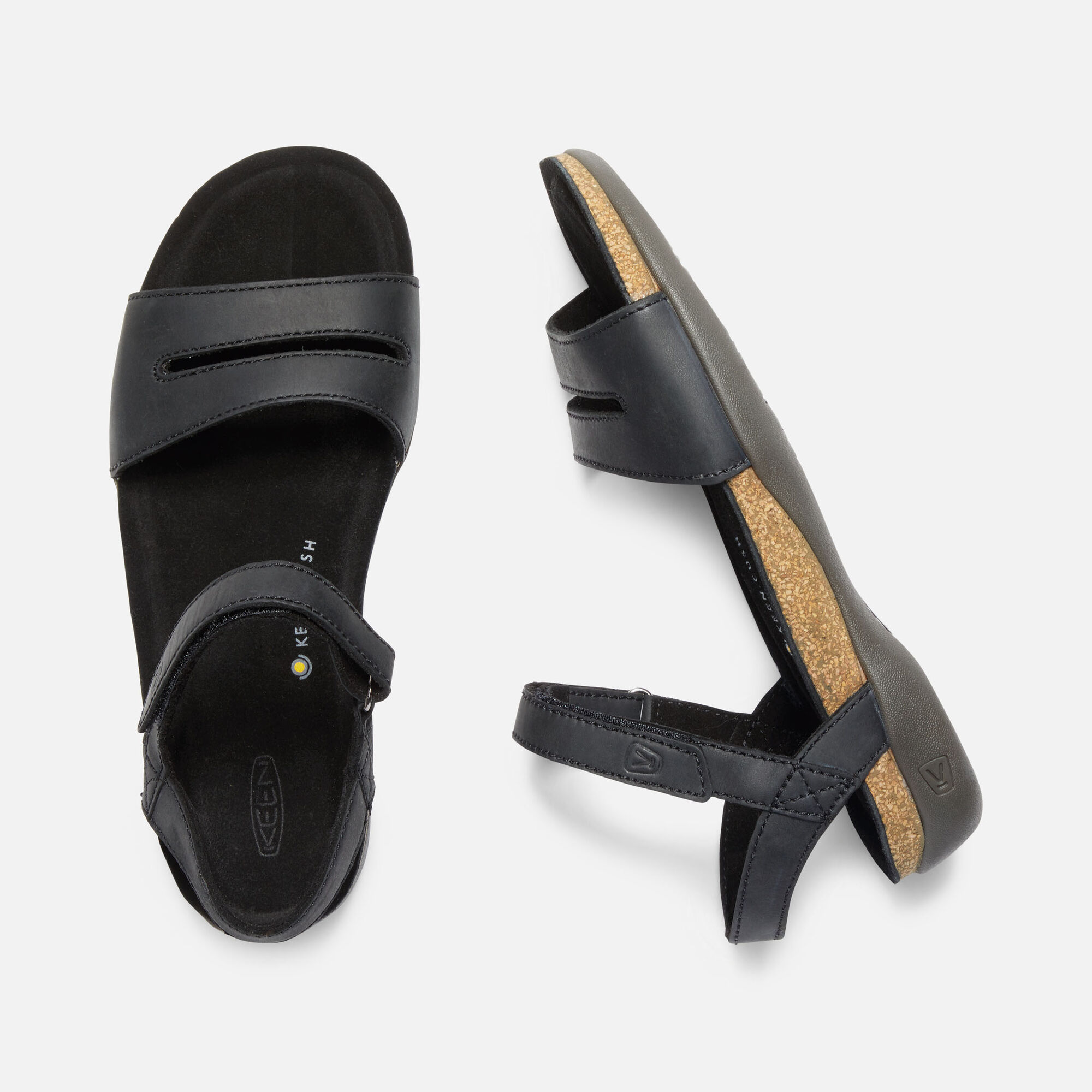 1a4ff5519a4e Women s ANA CORTEZ SANDAL in BLACK BLACK - small view.