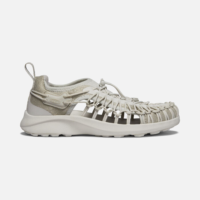 Women's Uneek SNK Shoe in Silver Birch/Silver Birch - large view.