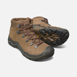 Men's Feldberg Waterproof in Dark Earth/Cascade Brown - small view.
