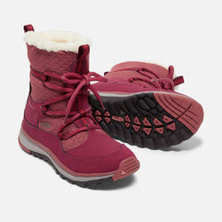Women's TERRADORA APRÈS Waterproof Boot in Rhododendron/Marsala - small view.