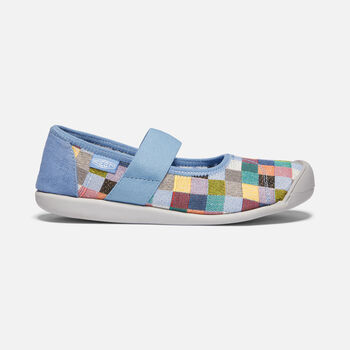 Women's Sienna Canvas Mary Jane in MULTI/QUIET HARBOR - large view.