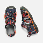 SEACAMP II CNX pour jeunes in DRESS BLUES/SPICY ORANGE - small view.