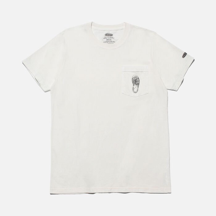 POCKET Tシャツ NEWPORTH2 in White - large view.