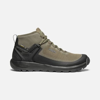 Men's Citizen Evo Waterproof Knit Casual Boots in OLIVE NIGHT/BLACK - large view.