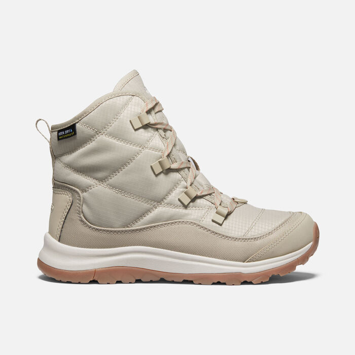 Women's Terradora II Winter Waterproof Boot in Plaza Taupe/Redwood - large view.