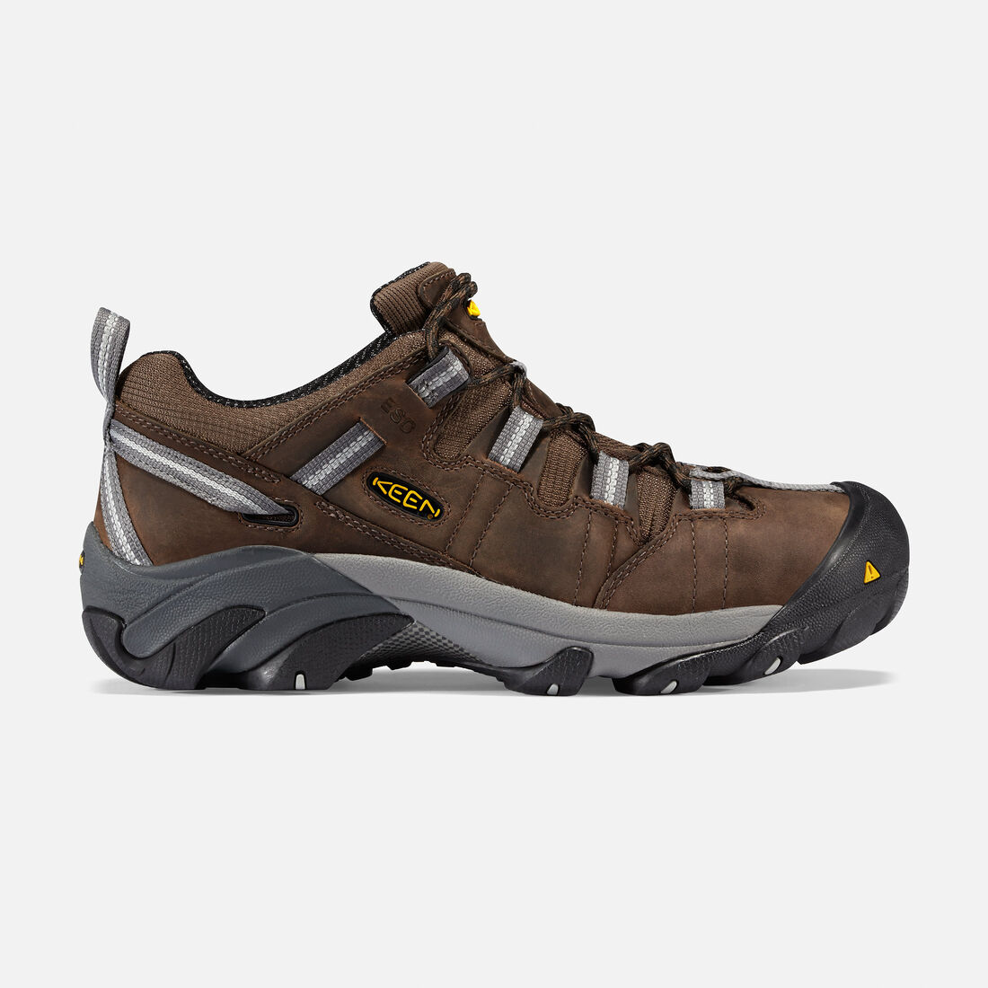 Men's Detroit Low ESD (Steel Toe) in Dark Brown - large view.