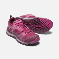 WOMEN'S TERRADORA WATERPROOF HIKING SHOES in BOYSENBERRY/GRAPE WINE - small view.