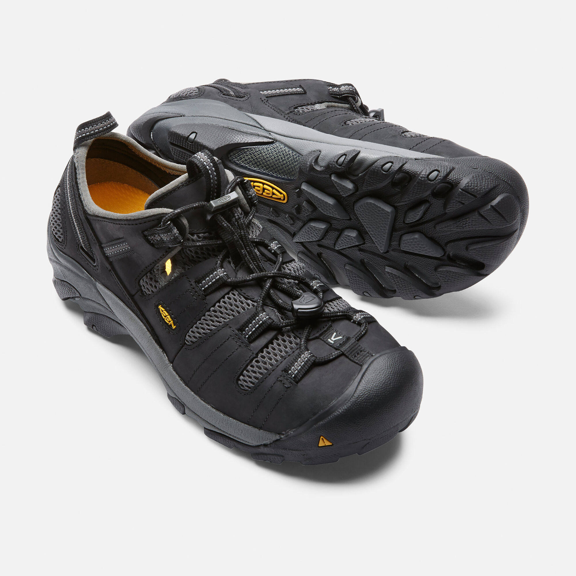 24c5349bbf40e0 Men s Atlanta Cool (Steel Toe) in Black - small view.