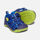 Toddlers' Newport H2 Sandals in Blue Depths/Chartreuse - small view.