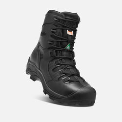 "CSA Oshawa 8"" Boot (Steel Toe) Pour homme in Black - small view."