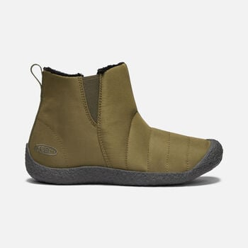 Women's Howser Boot in DARK OLIVE/RAVEN - large view.
