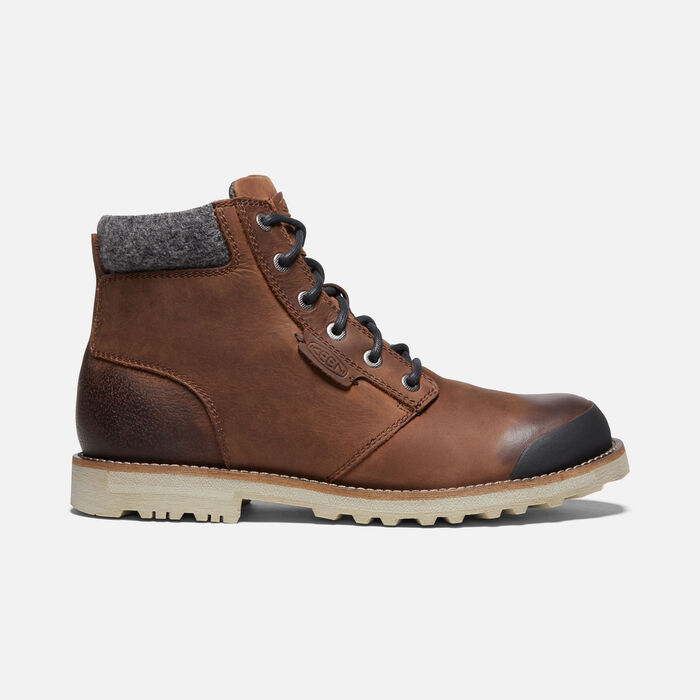 Men's The Slater II Casual Boots in Fawn - large view.