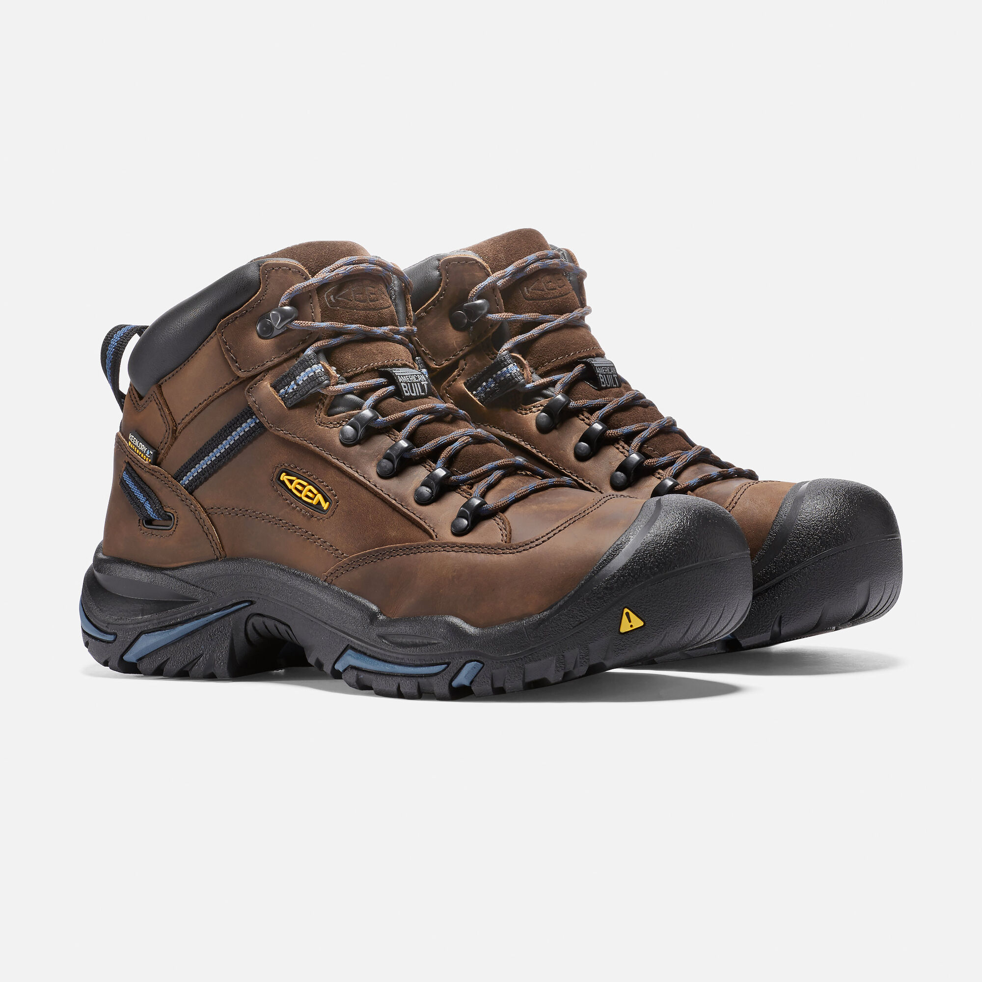 439c2827e34 Men's Braddock Mid AL Work Boots - Waterproof, Steel Toe Boots ...