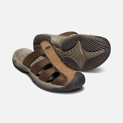 MEN'S ARUBA II SANDALS in DARK EARTH/MULCH - small view.