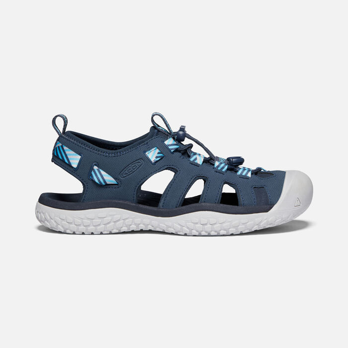 Women's SOLR Sandal in Navy/Blue Mist - large view.