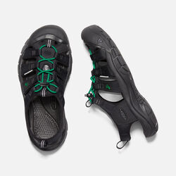 Women's Newport Revival in BLACK/GREEN - small view.