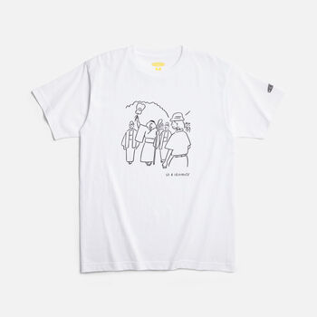 KEEN Iriomote T-Shirt CONSERVE in WHITE - large view.