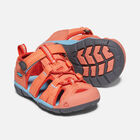 Toddlers' Seacamp II Cnx Sandals in Coral/Poppy Red - small view.