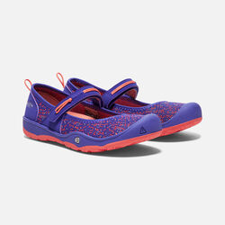 Big Kids' MOXIE MARY JANE in Royal Blue/Fusion Coral - small view.