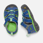 Toddlers' Seacamp II CNX in True Blue/Jasmine Green - small view.