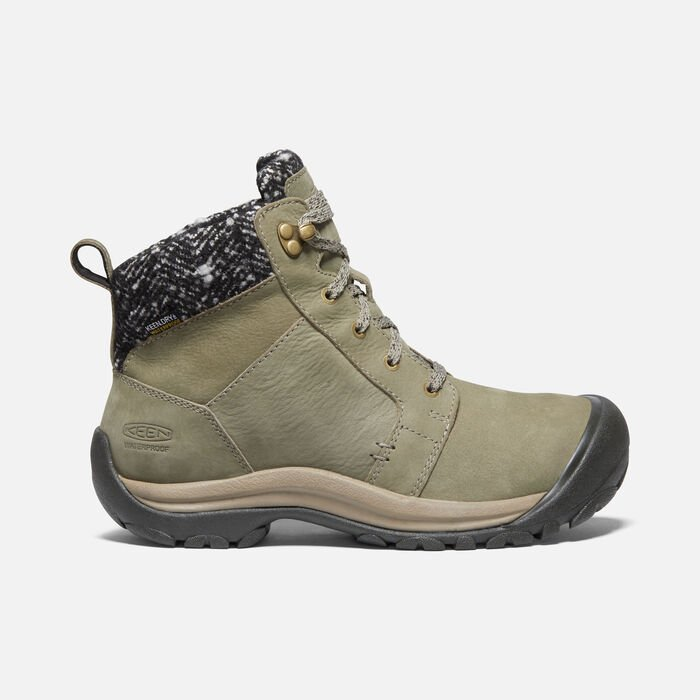 KACI II WINTER WP BOOT POUR FEMME in Pale Olive/Brindle - large view.