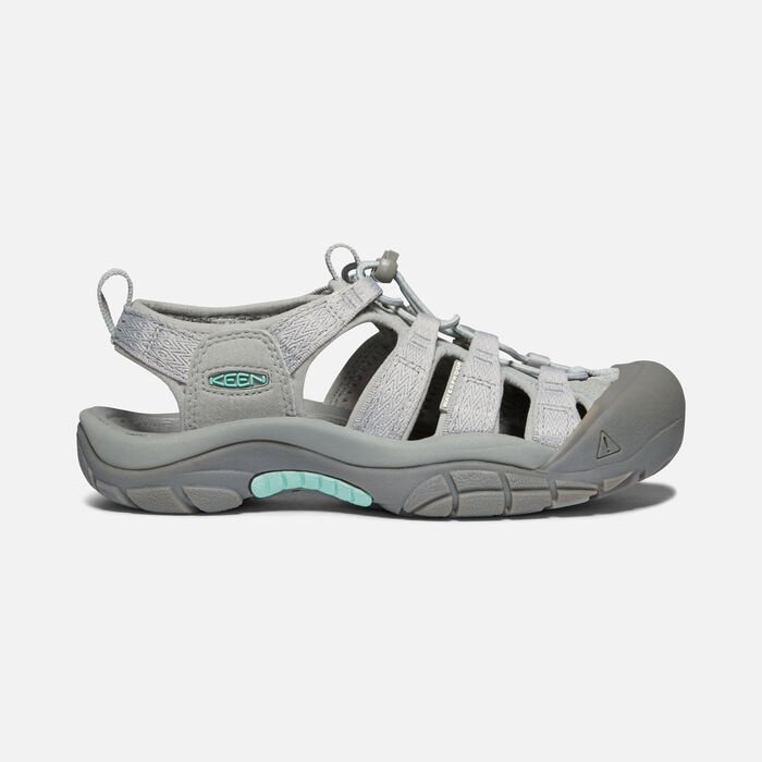 Women's Newport H2 in Grey/Ocean Wave - large view.